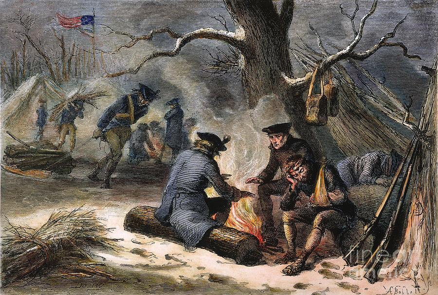 Valley Forge Winter 1777 By Granger