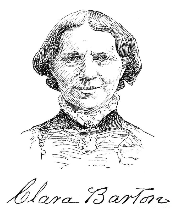 Clara Barton (1821-1912) Photograph by Granger