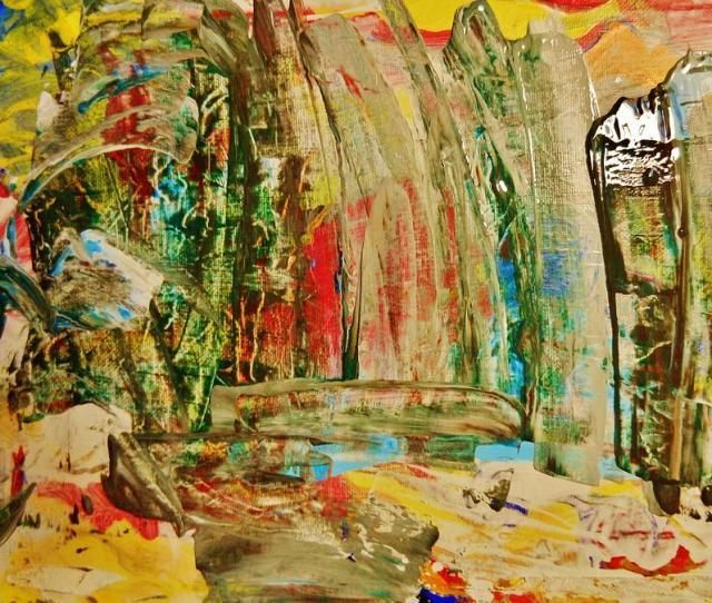 Abstract Painting Abstract Of Nature By Marina R Vladis