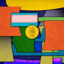 Abstract Shapes Color Digital Art Gary Grayson