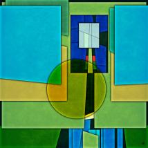 Abstract Shapes Color Two Gary Grayson