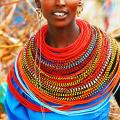 Traditional african designs african woman with traditional