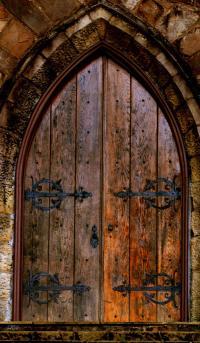 Arched Doorway by Jason Blalock