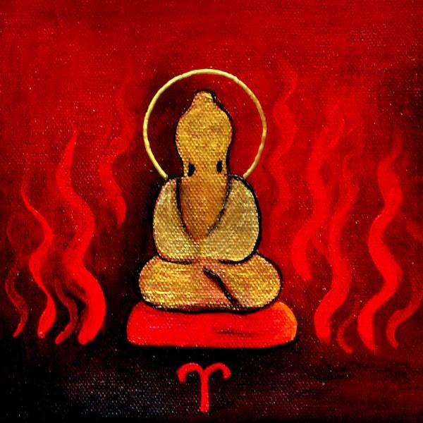 Abstract Buddha Paintings