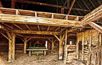 Barn Interior Photograph by Randall Branham