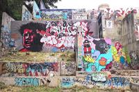 Baylor Street Art Wall Photograph by Jessi Williams