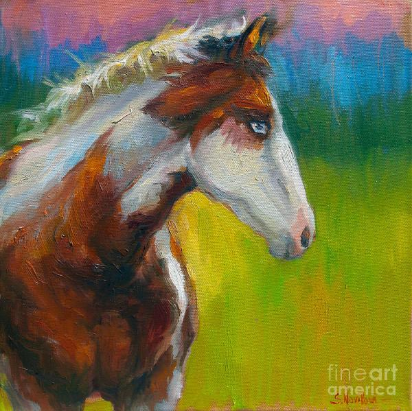 Horse Oil Painting Prints