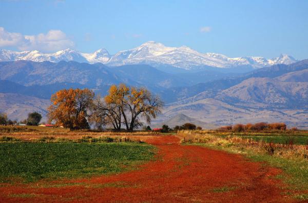 boulder county colorado landscape