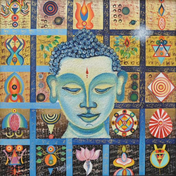 Meditation Buddha Painting