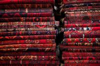 Carpets And Rugs Sold By Vendor Photograph by Aj Wilhelm