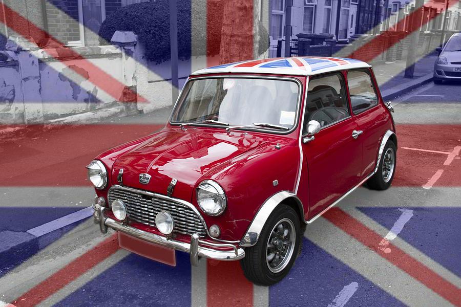Classic British Mini Car Photograph By David French