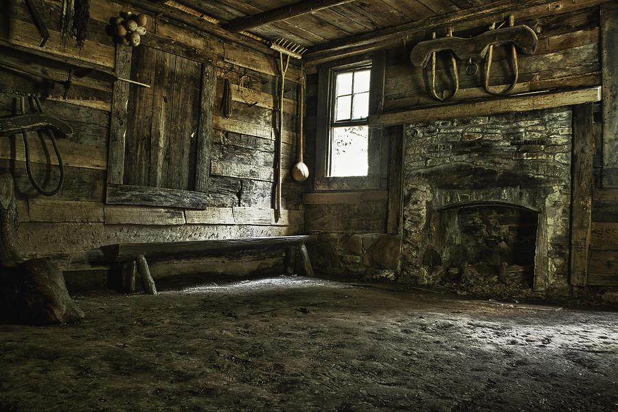 Dirt Floor Mansion Photograph by Karen Lawson