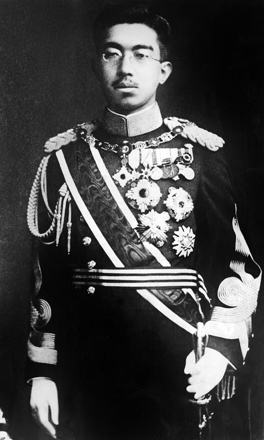 Emperor Hirohito Of Japan Portrait by Everett