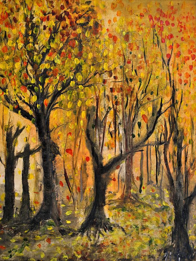 Foliage Painting : foliage, painting, Foliage, Painting, Evelina, Popilian