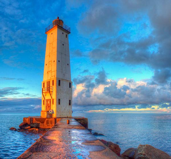 Frankfort Michigan Lighthouse Twenty Two