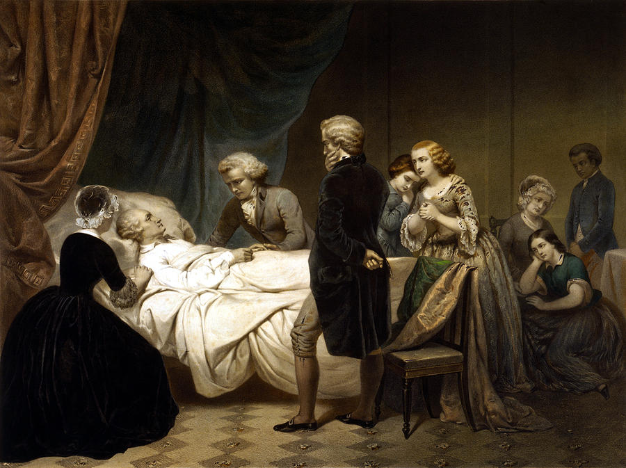 Philosopher on his deathbed