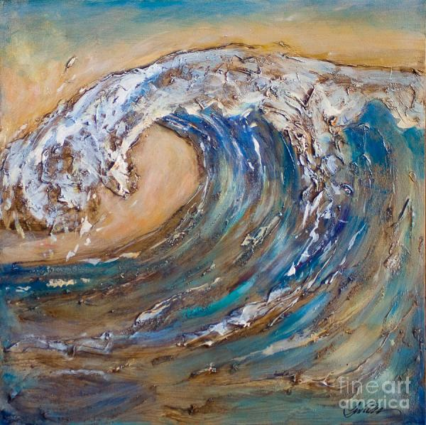 Giant Wave Painting Linda Olsen