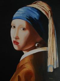 Girl With A Pearl Earring Painting