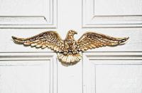 Golden Eagle Americana Door Decor French Quarter New