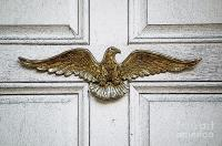 Golden Eagle Americana Door Decor French Quarter New ...