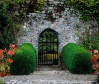 Gothic Entrance Gate, Walled Garden by The Irish Image ...