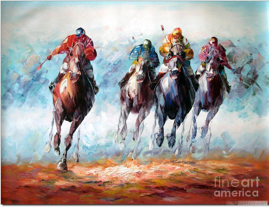Image Result For Acrylic Horse Paintings On Canvas