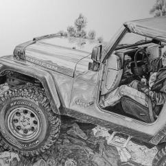 1992 Club Car Wiring Diagram Speaker 8 Ohm The Gallery For --> Jeep Wrangler Drawing