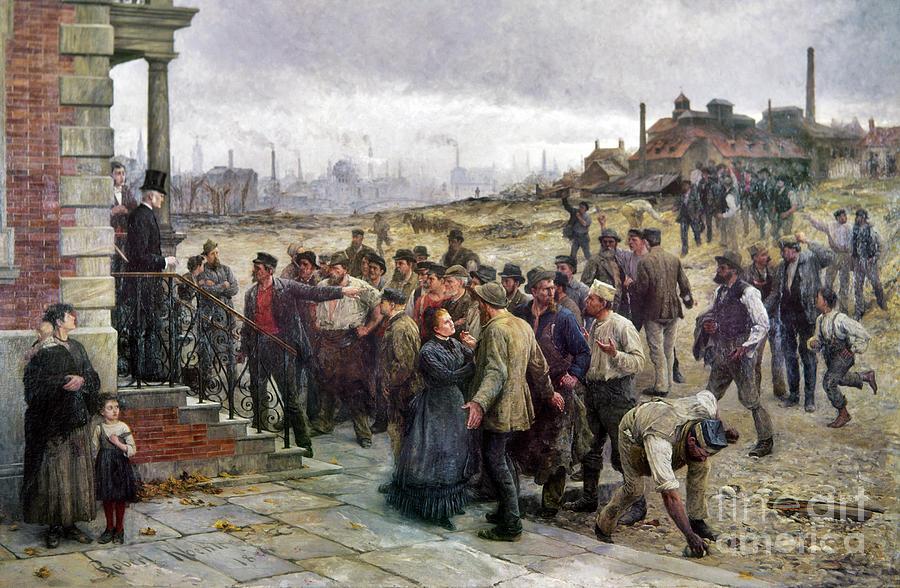 Koehler Strike 1886 Photograph by Granger