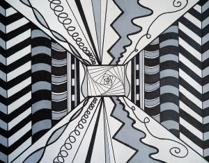 lines mike drawing haslam abstract drawings greeting 7th july which uploaded
