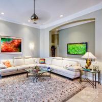 Luxury Living Room Interior Photograph by Skip Nall