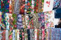 Many Russian Scarves Photograph by Boris Suntsov
