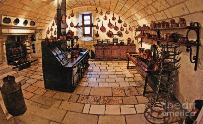 Medieval Kitchen Digital Art by Paul Topp