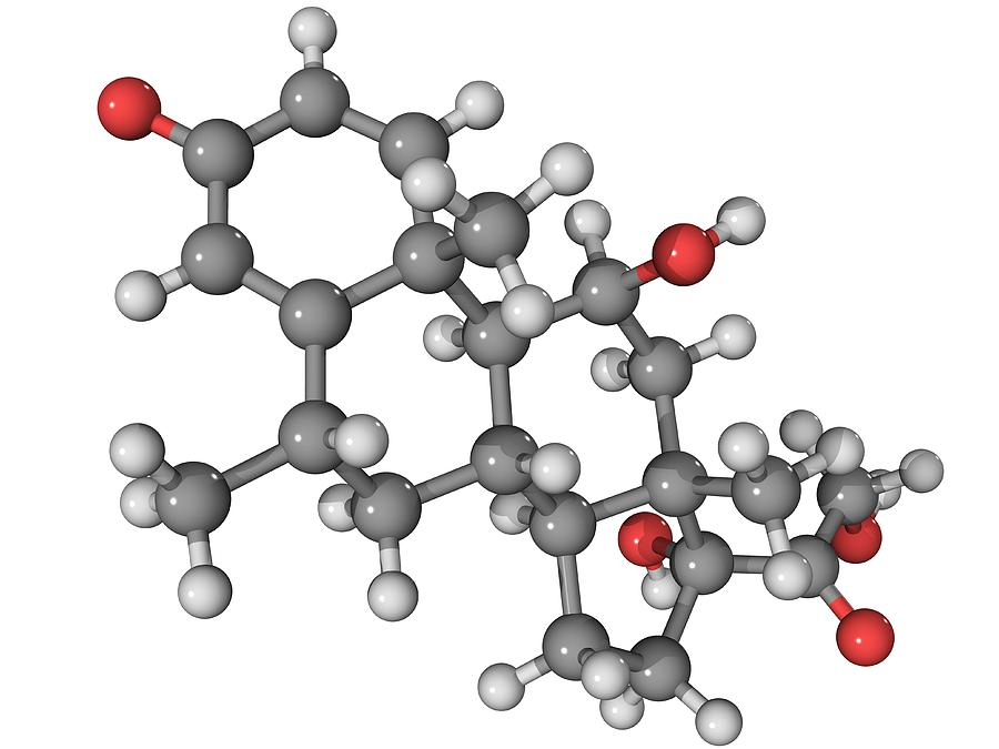 Methylprednisolone Drug Molecule Photograph by Laguna Design