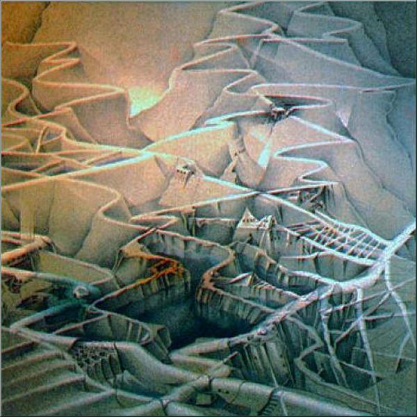 Middle Earth 1982 Pastel Glenn Bautista
