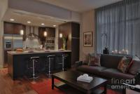 Modern Living Room And Kitchen Photograph by Andersen Ross