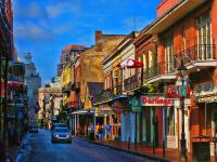 New Orleans Street Scene Photograph by Terry Sita