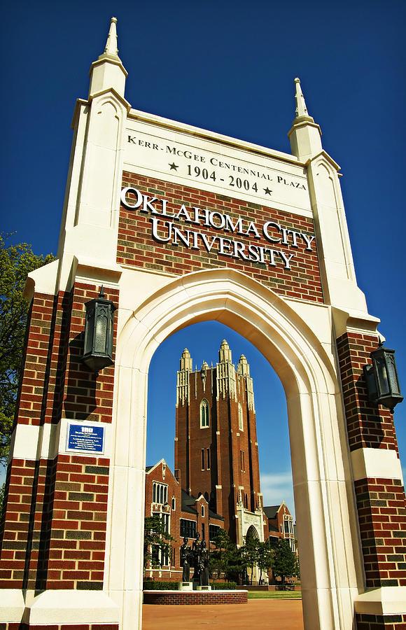 Oklahoma City University Photograph by Ricky Barnard