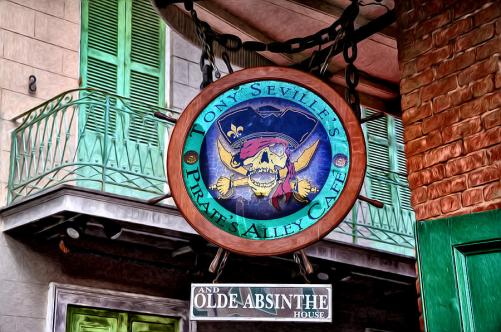 Image result for Pirates Alley Cafe