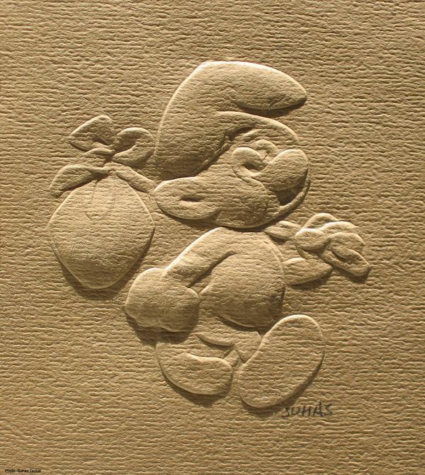 Paper Relief Art