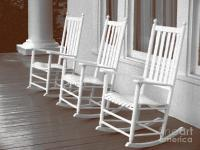 front porch | I LUV Rockin' Chairs | Pinterest