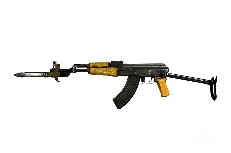 Russian Ak-47 Assault Rifle Photograph by Andrew Chittock