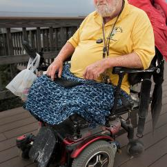 Wheelchair Man Hanging Chair Bed Sad In Photograph By Ercole Gaudioso