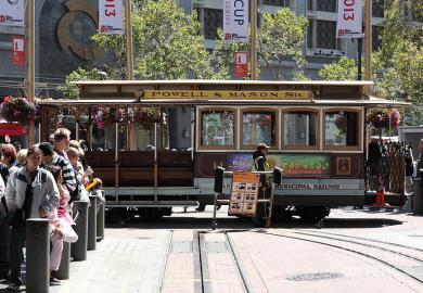 Cable Car In San Francisco Photography