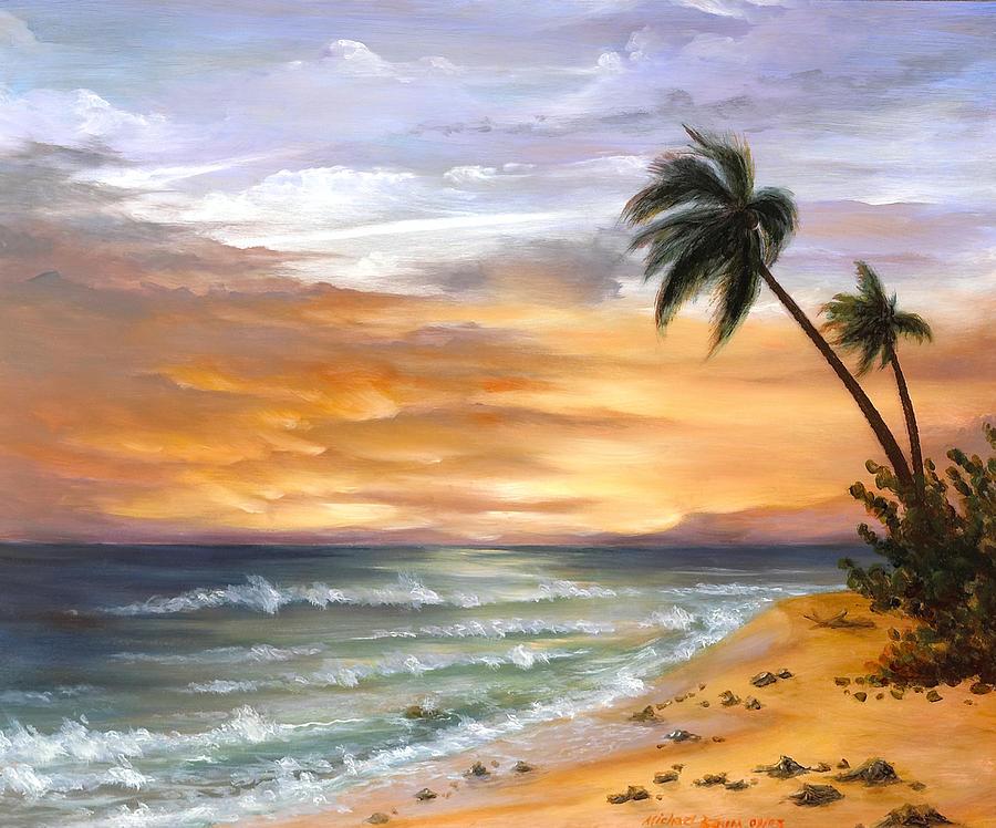 seascape on copper v