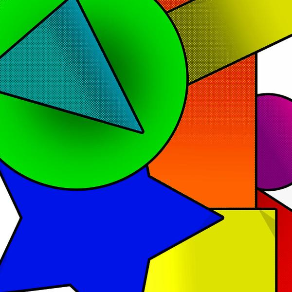Digital Art Shapes