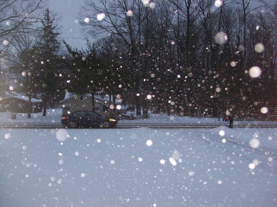 Snowman Light Canvas