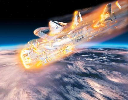 Image result for space shuttle columbia disaster