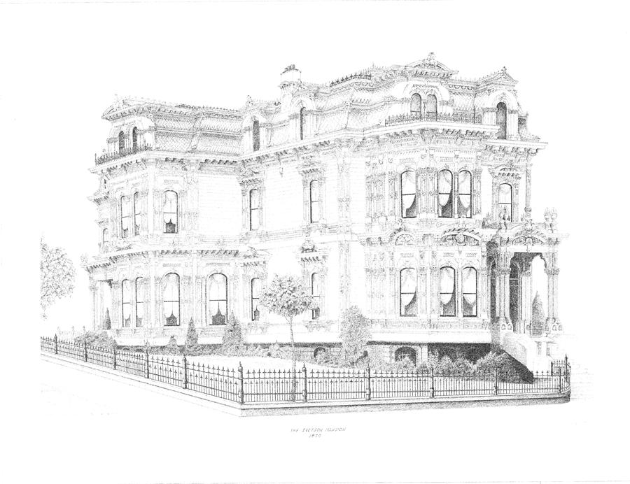 Stetson Mansion by Edward Williams