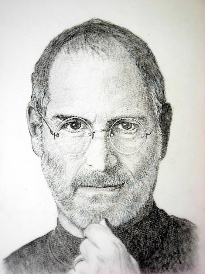 Steve Jobs Drawing : steve, drawing, Pencil, Sketch, Steve, Pencildrawing2019