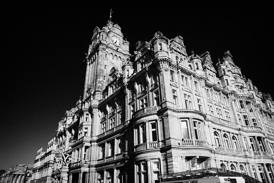 The Luxury Balmoral Hotel Edinburgh Scotland Uk United Kingdom